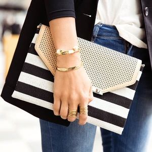 Stella & Dot City Slim Clutch